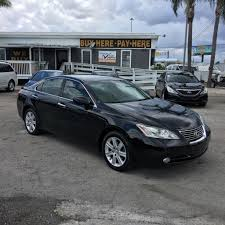 lexus sedan 2007 2007 lexus es sedan in florida for sale 195 used cars from 7 470