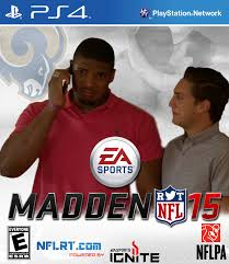 Michael Sam Meme - madden 15 covers