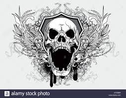 t shirt with skull design dontstopgear 5744f66b9c29