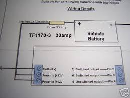 voltage controlled vsr intelligent caravan split charge fridge