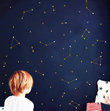 online get cheap zodiac arts aliexpress com alibaba group special art constellation wall decal zodiac astronomy stickers kids bedroom decor mural outer space bedroom wall