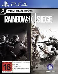 tom clancy u0027s rainbow 6 siege ps4 buy now at mighty ape nz