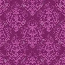 seamless fuchsia floral wallpaper or wrapping paper royalty free