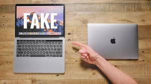 50 fake macbook pro vs 1 500 macbook pro youtube