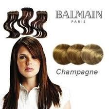 balmain hair balmain hair make up length extension 40cm chagne co