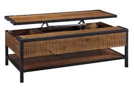 coffee table sauder dakota pass lift top coffeee craftsman oak