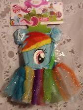 Pony Rainbow Dash Halloween Costume Pony Rainbow Dash 9 Piece Halloween Costume Junior Sml 3