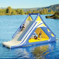 this crazy expensive inflatable water slide looks like it u0027s worth
