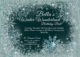 wrap party invitations winter wonderland party winter snowflake ball invitation
