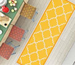 dallas moroccan trellis yellow gold and white modern geometric