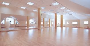 floating floor dance studio isolation farrat