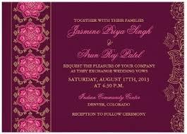 simple indian wedding invitations simple indian wedding invitation wording compilation on modern
