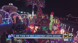 the great christmas light show the great christmas light fight 2 arizona homes to be featured on
