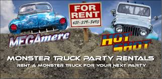 monster truck party rentals apparel 631 379 8493