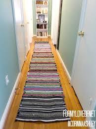 Rag Runner Rug Cool Runner Rugs For Hallway 44 Contemporary Runner Rugs For