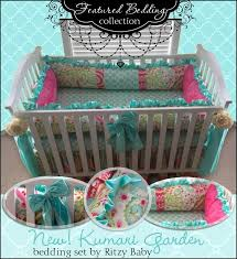 Custom Girls Bedding by 44 Best Michelle U0027s Baby Bedding Images On Pinterest Baby Beds