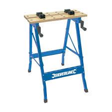 silverline tb01 portable workbench 100 kg amazon co uk diy u0026 tools