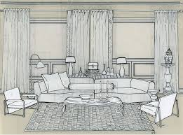 interior design sketch ezdecorator interior design tools templates for furniture layouts