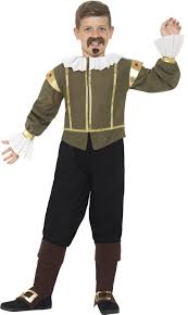 Tudor Halloween Costumes Shakespeare Boys Fancy Dress Tudor Medieval Book Kids