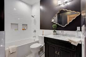 bathroom alcove ideas brilliant ideas for baby shower gifts bathroom transitional with