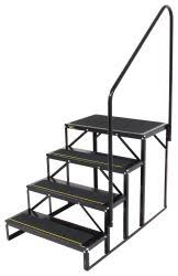 Steps With Handrails Rv And Camper Steps Etrailer Com
