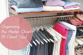 organizing the master closet 11 closet tips heartworkorg com