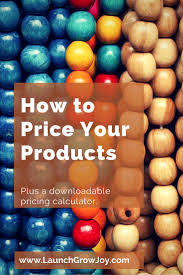 price for a how to price your products with a free pricing calculator