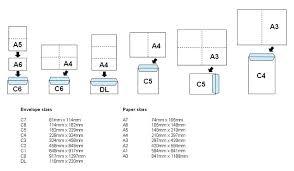Envelopes Size Envelopes Technical Information Professional Print Management