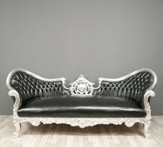 canapé baroque canapé baroque noir fauteuils baroques
