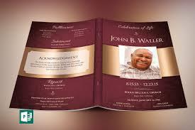 cheap funeral programs black dignity funeral program templates creative market
