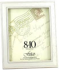 amazon com fetco home décor f464480 longwood frame rustic white