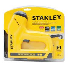 Electric Staple Gun Upholstery Stanley Tre550z Electric Staple Brad Nail Gun Power Brad Nailers