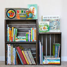 Diy Bookshelves Cheap by Top 25 Best Michaels Wood Crates Ideas On Pinterest Wooden