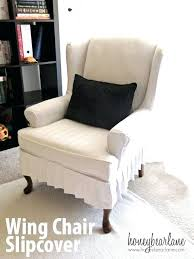Slipcover For Wingback Chair Design Ideas Wing Armchair Covers Wing Armchair Covers Large Size Inspiring