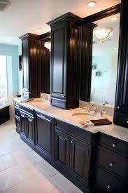 double sink vanity with middle tower double vanity with tower pdd test pro