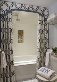Shower Curtain For Small Bathroom Bathroom Shower Curtain Idea Small Bathroom Illusions And Ceilings
