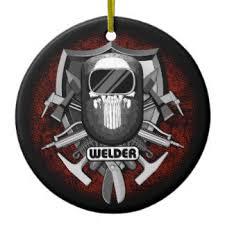 welder skull ornaments keepsake ornaments zazzle