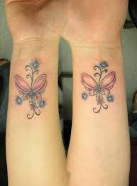 wrist butterfly tattoos