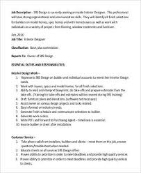 model home designer job description interior designer job information