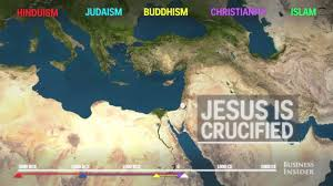 World Religion Map The Spread Of World Religions In 2 Minutes Set To Civ Iv Music