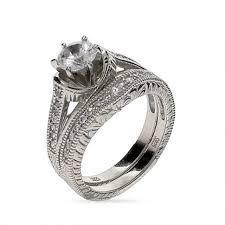 Art Deco Wedding Rings by Wedding Rings Edwardian Wedding Band Art Deco Diamond Engagement
