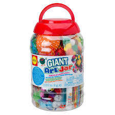amazon com alex toys craft giant art jar toys u0026 games