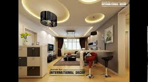 simple pop design of roof without ceiling home combo with on