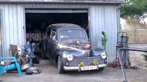 old peugeot van peugeot 203 moves for first time youtube