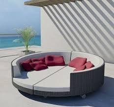 round chaise lounge foter