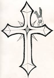 cool cross tattoo tattoos drawings crosses on tattoo designs cool cross my style