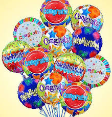 mylar balloon bouquets congratulations mylar balloon bouquet kremp