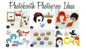 Photo Booth Prop Unique Photobooth Photoprop Ideas
