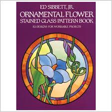 franklin glass studios inc ornamental flowers stained glass