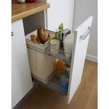 panier coulissant pour meuble de cuisine rangement coulissant et bouteilles pour meuble l 30 cm delinia